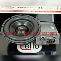 Paket subwoofer Cello W8E-Power monoblok Cello M9
