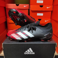 Sepatu Bola Adidas Predator 20.1 Black Red Fg - Sepatu soccer adidas