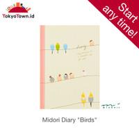 Midori Diary Small Birds # notebook, journal