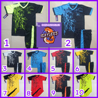 Baju Olahraga Anak Setelan Kaca Sepakbola Futsal Volly Badminton