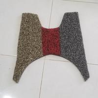 Karpet Bihun Motor Honda Beat FI~ bahan 2 warna