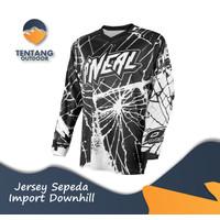 Jersey Sepeda Import ONEAL N008 Downhill Baju Gowes Lengan Panjang