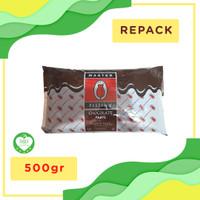 Selai Cokelat Filling Tulip Repack 500gr Cokelat Pasta