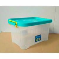 Ezy Smart Storage Box Container Plastik 30 liter