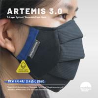 [CLASSIC BLUE] ARTEMIS 3.0   Triple Layer System   Masker 3 Lapis
