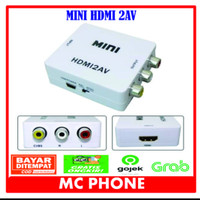 HDMI2AV AV2HDMI Converter Minibox HDMI To AV AV To HDMI RCA CVBS Adapt