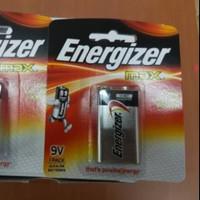 Baterai Energizer 9v Max / Battery 9 Volt / Baterai kotak