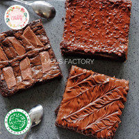 Fudgy Brownies / Brownies Panggang Premium Halal Termurah