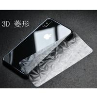 iPhone X Back Diamond Skin Garskin 3D Anti Gores Belakang