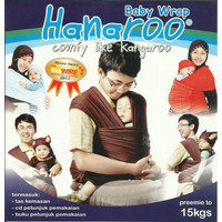 Hanaroo Baby Wrap Polos / Gendongan Bayi / Geos