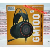 Headset dbE GM100 Gaming Headphone (Microphone Panjang) Jack 3.5mm