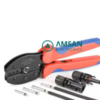 IWISS LY 2546B MC4 Connector Tang Crimping Tool MC4 MC3 AWG 10 12 14