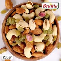 Premium Mix Nuts / Trail Mix/Kacang Mix /Almond Cashew Pistachio 250g
