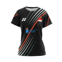 Baju Kaos tshirt Jersey Wanita olahraga Badminton gaming Esport 03
