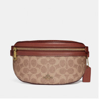 Coach Belt Bag In Signature Canvas for woman - ORIGINAL AUTENTIC 100%