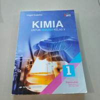 buku kimia untuk SMA kelas X K 2013 kelompok peminatan Erlangga