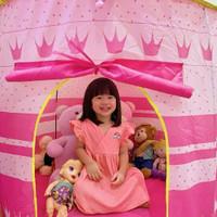 PINK - Baju Anak Cewek Perempuan RAINBOW DRESS Polos Rok Balita