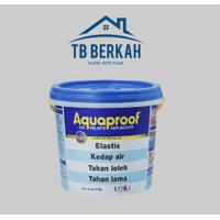 cat pelapis anti bocor merk aquaproof ukuran 4 kilogram