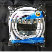 Selang INLET / Masuk air Mesin cuci 3 Meter Full Sharp-LG-Samsung-DLL