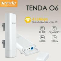 TENDA O6 10KM Outdoor AP Access Point P2P 5Ghz CPE Router Extender 433