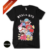 Baju BTS Anak Perempuan Wanita Kaos BTS Dewasa #REG-509