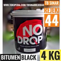 No Drop Pelapis Bitumen Black Galon 4KG Anti Bocor NoDrop x aquaproof