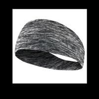 HB01 Headband Hairband - Head Band - Bandana Ikat Kepala GYM Fitness - Abu-abu HB01