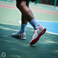 Sepatu Futsal Ortuseight Catalyst Basilisk IN - White Ortrange Ori