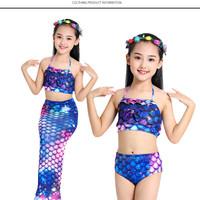 Baju Renang Kostum Mermaid Putri Duyung Anak Tail MR46 - Size 150