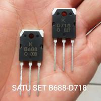 TR D718 B688 ORIGINAL SATU SET 2SD718 2SB688