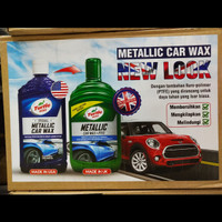 Turtle Wax Metallic Car Wax + PTFE (T 157I (500 mL) Liquid Botol)