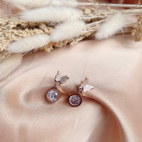 ANTING WANITA BUTTERFLY WITH DIAMOND IMPORT QUALITY NEW