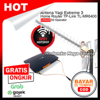 Duet Maut - Antena Yagi Extreme 3 & TP-Link Home Router TL-MR6400 4G