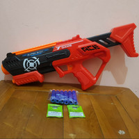 mainan tembakan peluru soft gel
