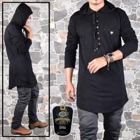Gamis baju koko busana muslim pria kurta hoodie
