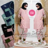 Baju Olah Raga Wanita Muslimah Basic Set 2 Recommended By Laviola