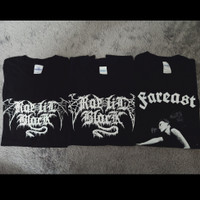 T-Shirt / Kaos Metal Rae Lil Black (3 pcs) + Gifts (Merch Import)