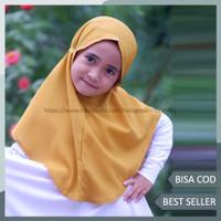 Jilbab Bergo Anak Bahan Diamond Crepe Premium - Talita Hijab Anak - CHAT ADMIN