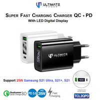 Charger Samsung Galaxy S21 Ultra S21+ S21 Plus 25W 28W Fast Charging