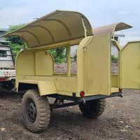 anhang trailer jeep gerobak food truck camper proyek rescue