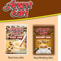 Anget Sari Wedang Jahe / Susu Jahe per renceng isi 10 sachet READY
