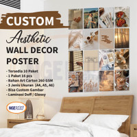 (16PCS) Poster aesthetic wall collage wall art wall poster aesthetic