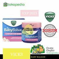 VICKS Baby Balsam 50 Gr - Balsem Bayi / Anak IMPORT- VIKS 50 gram