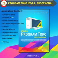 [Original] Program Kasir Toko IPOS 4 - Pro & Full Version - License 1 PC, DOKUMEN (Email)