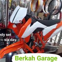 Paket Lengkap Rangka KTM 250 Six Day Sd 2017 Plus Body Full Set Tebal