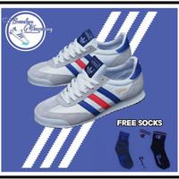 Sepatu Adidas Dragon White France Original