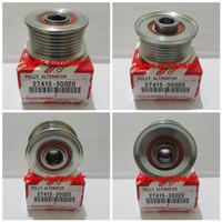 pully pulley alternator inova innova hilux fortuner diesel 7 pk import