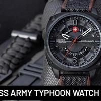 jam tangan pria Swiss Army typhoon hawker ori
