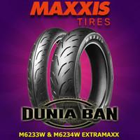 PAKET BAN YAMAHA VIXION MAXXIS M6233W & M6234W UK 90/80-17 & 120/70-17