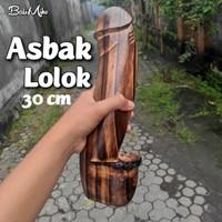 ASBAK LOLOK/ASBAK ROKOK LOLOK BALI/ASBAK UNIK/ASBAK KAYU/BALI ASHTRAY